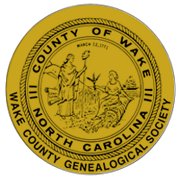 Wake County Genealogical Society, North Carolina